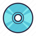cd, compact, compact disk, disc, dvd, media icon