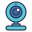 cam, camera, computer camera, video, web, web camera, webcam icon