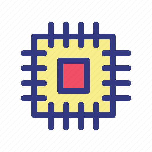 Chip, computer, cpu, hardware, pc icon - Download on Iconfinder