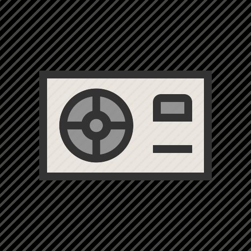 computer, equipment, fan, hardware, pc, power supply icon