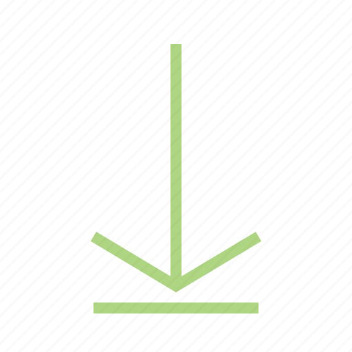 arrow, down, download, guardar, internet, save, store icon