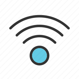 access, signal, wave, web, wi-fi, wifi, wireless icon