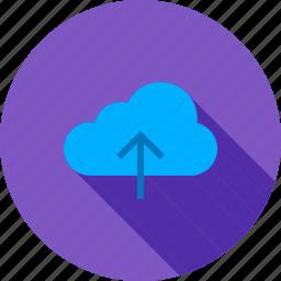 cloud computing, data, data access, data server, data share, data transfer, upload icon