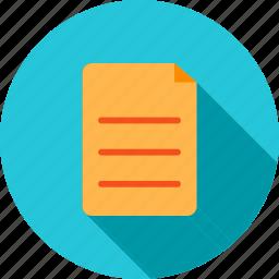 copy, document, documents, file, files, list, paste icon