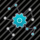 connection, hub, network, settings, smart, smarthub