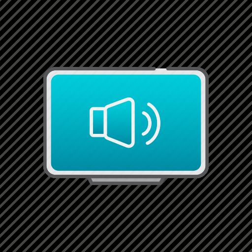 setup, sound, support, tv, wallmount icon