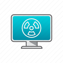 computer, help, support, virus, virus removal icon
