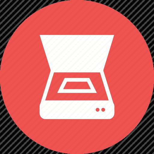 device, equipment, hardware, machine, output, scanner, tracing machine icon