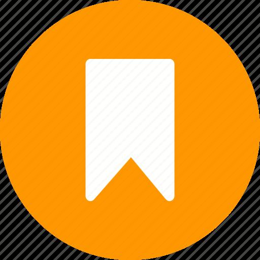 book, bookmark, label, ribbon, sticker, tag icon