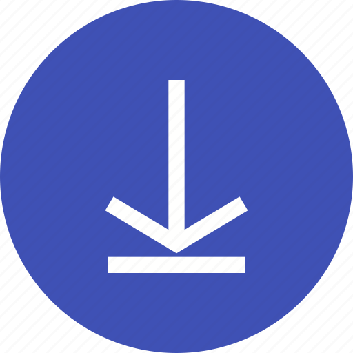 arrow, down, download, internet, save, store icon