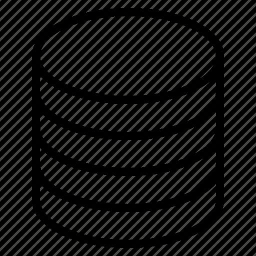 data, database, harddrive, hardest icon