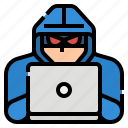 attack, computer, cybercrime, hacker, hacking icon