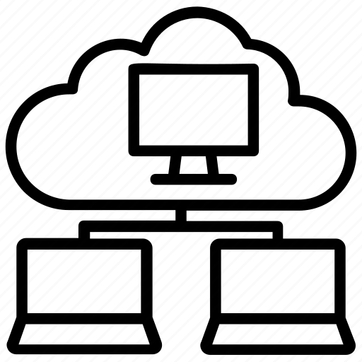 big data, cloud computing, cloud network, cloud sharing, integrate cloud icon