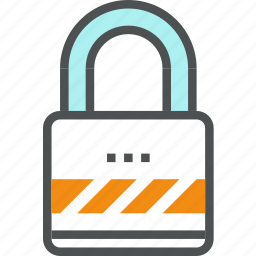 closed, lock, padlock, protection, safety, secure, security icon