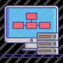 computer, data, database, interfaces icon