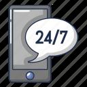 cartoon, computer, device, logo, object, repair, telephone