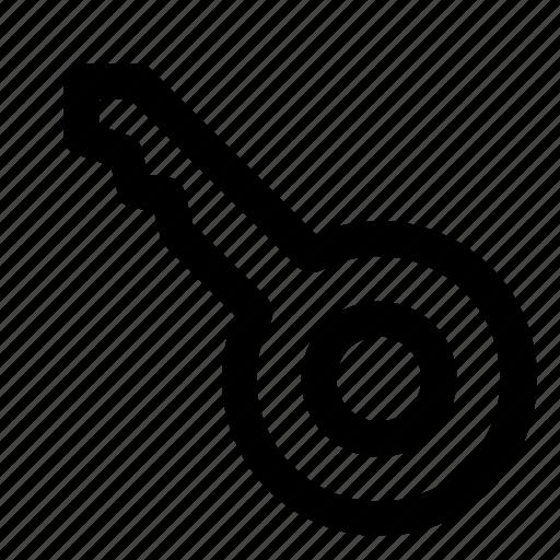 computer, data, information, internet, key, laptop icon