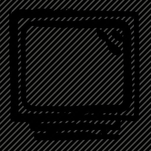 computer, crt, device, digital, electronics, hardware, monitor icon