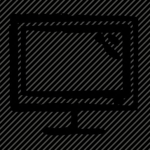 computer, device, digital, display, electronics, hardware icon