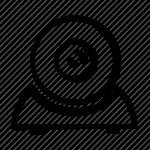 computer, device, digital, electronics, hardware, webcam icon