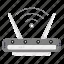 wifi, wlan, router, wireless icon