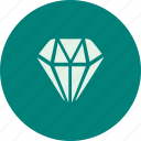 diamond, jewellery, money, payment, priceing, shop icon