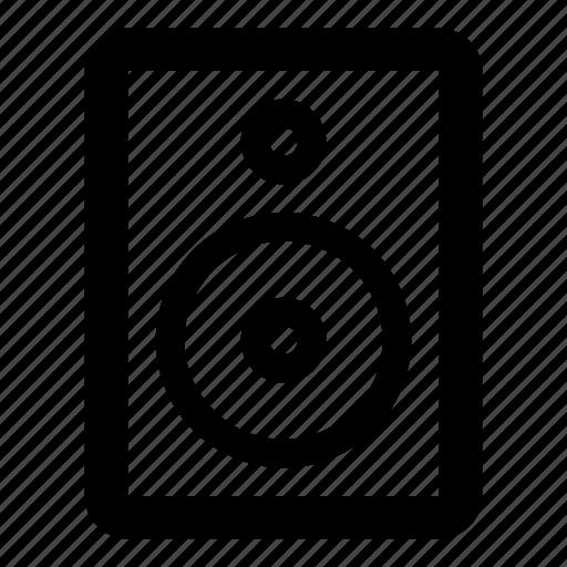 audio, computer, media, music, peripherals, speaker, speakers icon