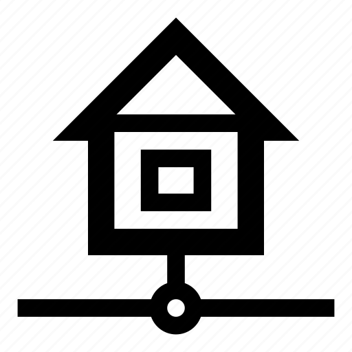 ethernet, home internet, home lan, home network, house, internet, lan icon