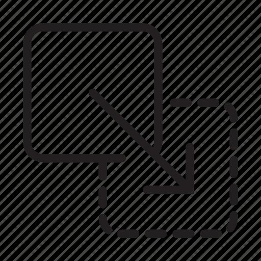 drag drag and drop dragampdrop drop move replace icon