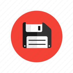 disk, diskette, drive, floppy, memory device icon
