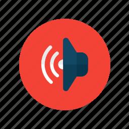audio, echo, listen, media, music, player, sound icon