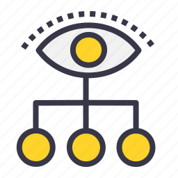 chain, connection, future, imagination, power, vision, visualization icon