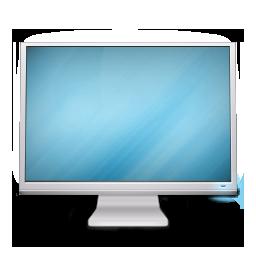 based, cinema, display, on icon