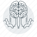 brain, brainstorm, brainstorming, business, marketing icon