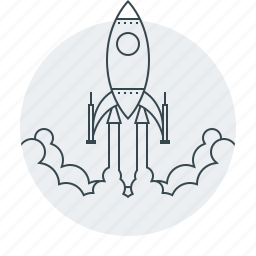 business, launch, mission, rocket, start, startup, up icon