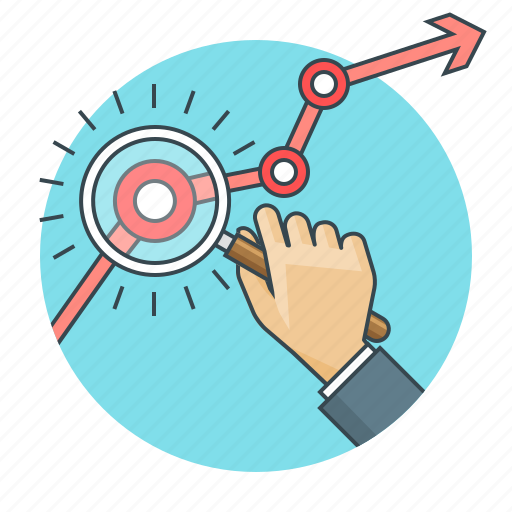 analytics, business, chart, concept, graph, market research, research icon