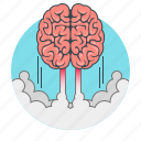 brain, brainstorm, brainstorming, concept, creative, idea, marketing icon