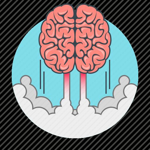 brain, brainstorm, brainstorming, concept, creative, idea, marketing icon