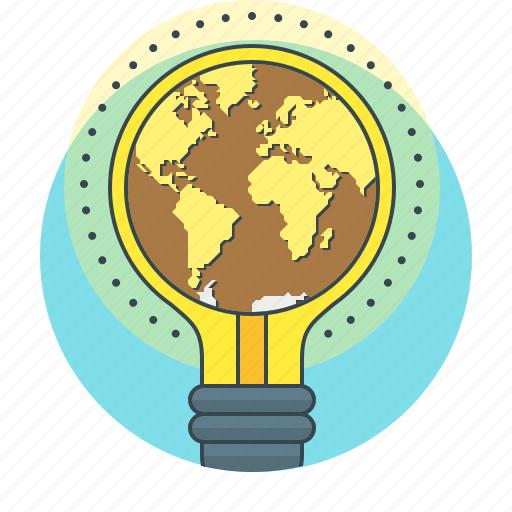 bulb, concept, creative, creative campaign, idea icon
