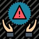 adventure, harm, jeopardize, risk, venture icon