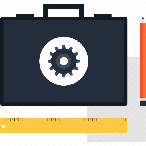 Bag, briefcase, case, management, portfolio, project, suitcase icon - Download on Iconfinder