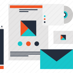 brand, corporate, design, development, identity, marketing, product icon