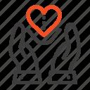care, compassion, feelings, heart, love