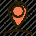 adress, gps, location, pin icon