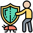 antivirus, firewall, safety, security, shield icon