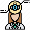 eye, identity, privacy, scan, verification icon