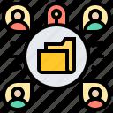 access, alert, breach, hacked, intruder icon