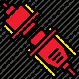 adaptor, cable, connector, dvi, plug icon