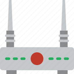 cable, connector, plug, router icon
