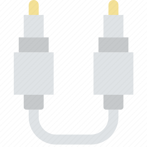 audio, cable, connector, plug, to icon